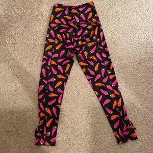 kate spade Pants - Kate Spade x Beyond Yoga Hot Pepper Leggings